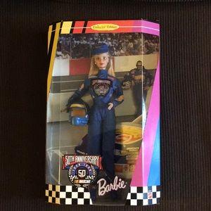 RARE collectors edition NASCAR barbie